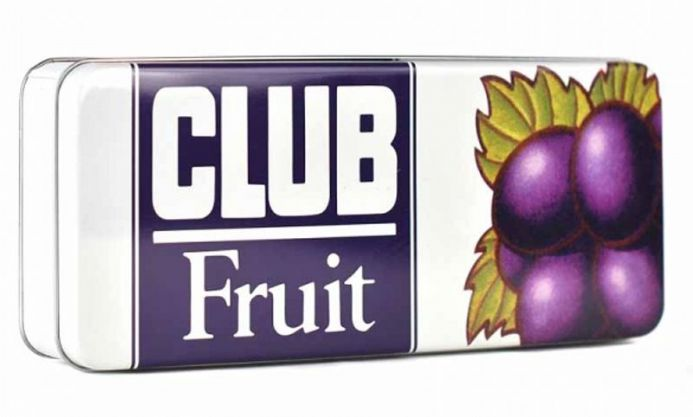 Jacobs Club Fruit Storage Tin - Rectangular